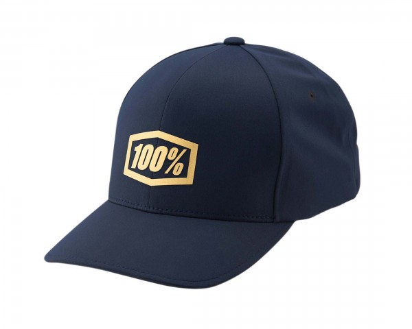 100% Offizieller J-Fit Flexfit Hat | navy blue
