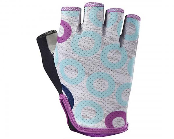 Specialized BG Grail Womens Gloves short fingerr   light grey heather-fuchsia