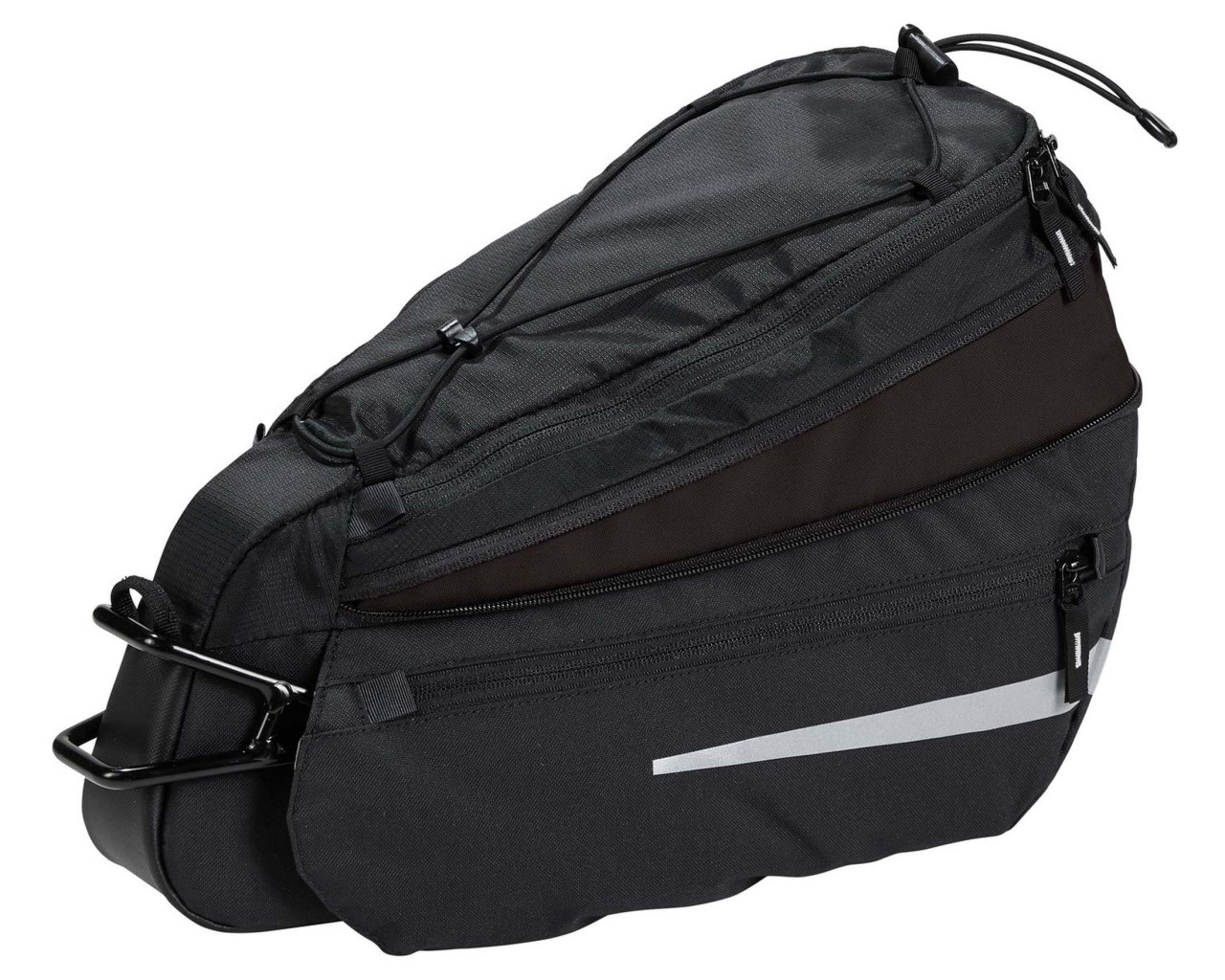 Vaude Off Road Bag M 7+3 litres Saddlebag for bike riding | black