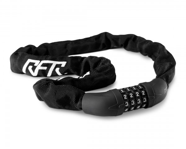Cube RFR Zahlenkettenschloss 6 x 1000 mm | black n white