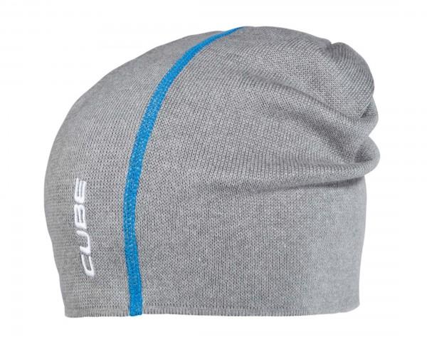 Cube Beanie Basic | grey