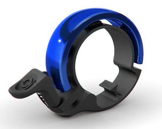 Knog Oi Classic Fahrradklingel - Large | black-blue