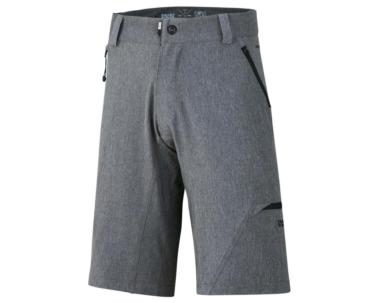 iXS Carve Digger Shorts | graphite