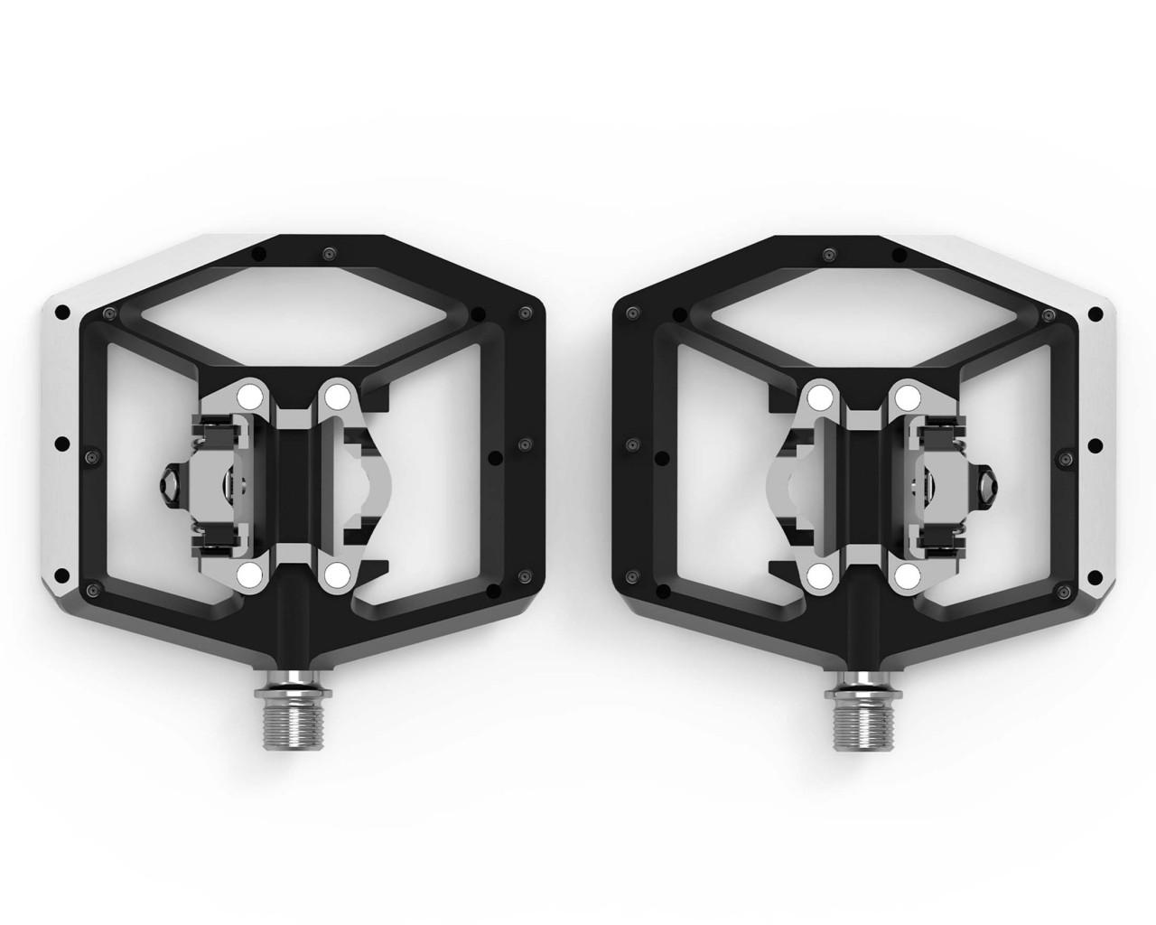 Cube ACID Pedale COMBO A2-ZP X Actionteam   grey n orange