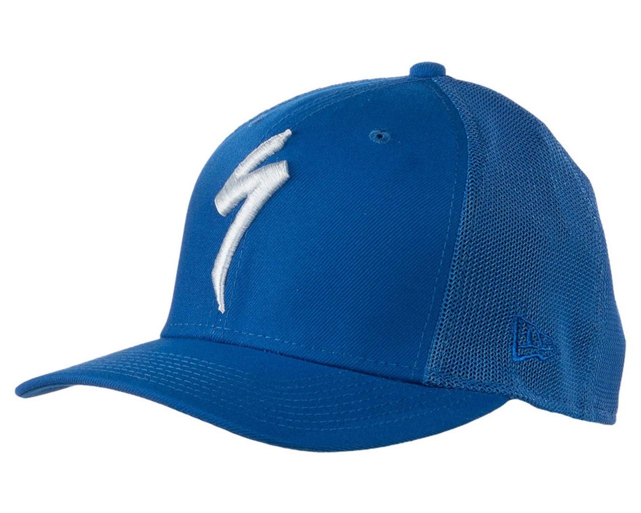 Specialized New Era S-Logo Trucker Hat | cobalt