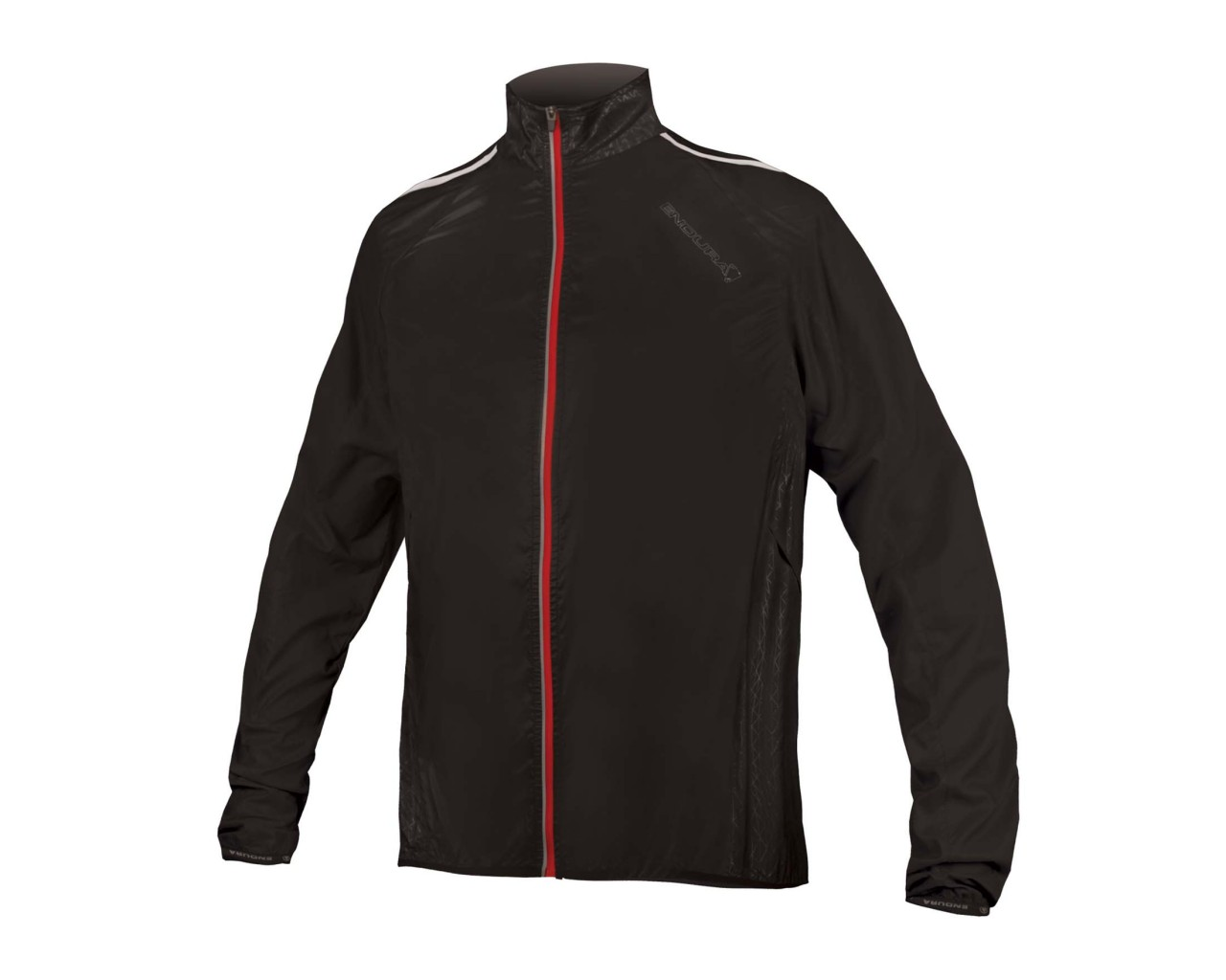 Endura Pakajak II Jacke mit Windschutz   black