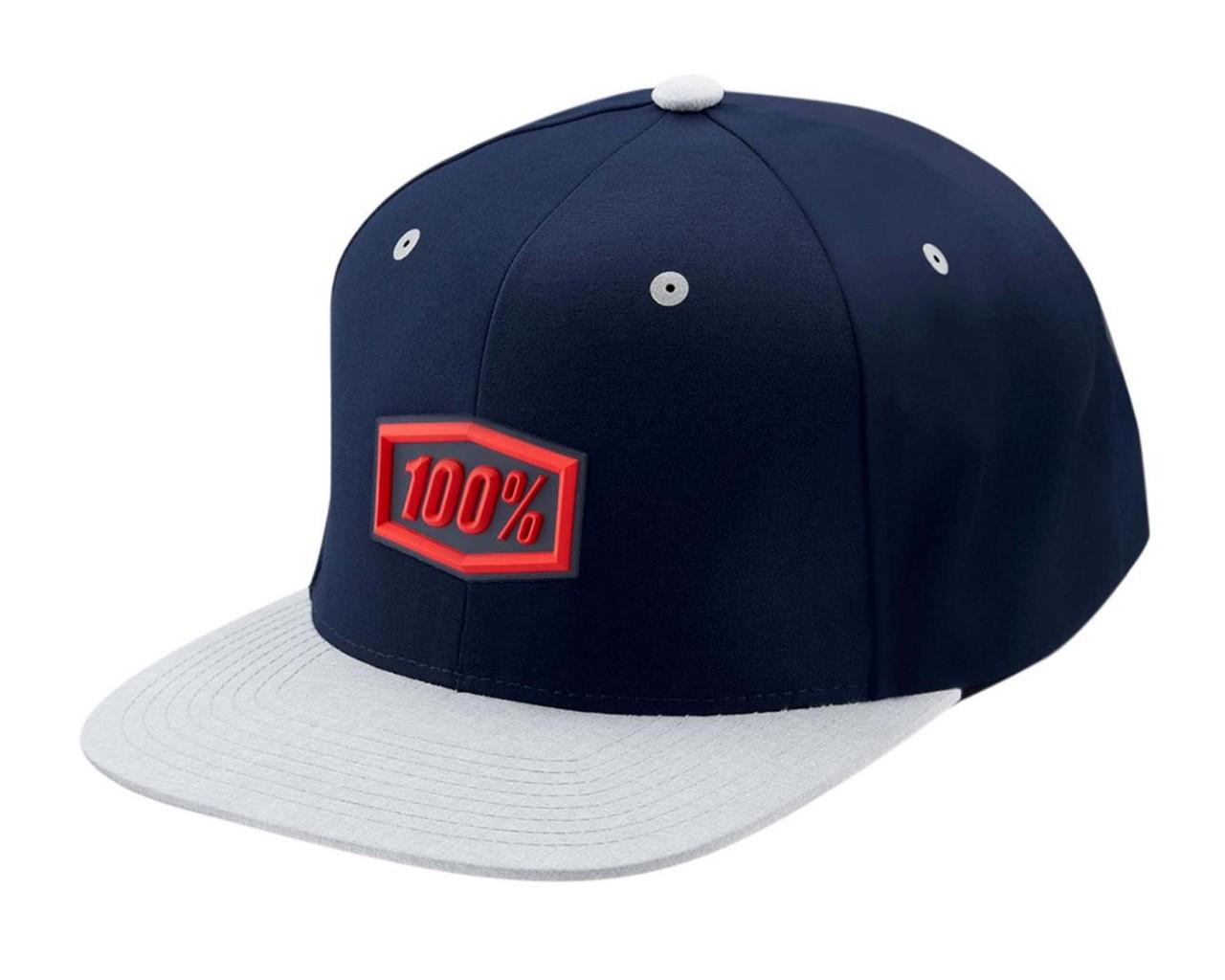 100% Enterprise 2019 Snapback Hat | blue