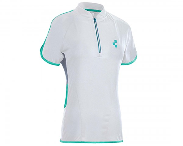 Cube Tour WLS Womans Jersey short sleeve | white