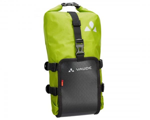 Vaude Trailmulti 5 liter wasserdichte Gabeltasche für Bikepacking | black-green