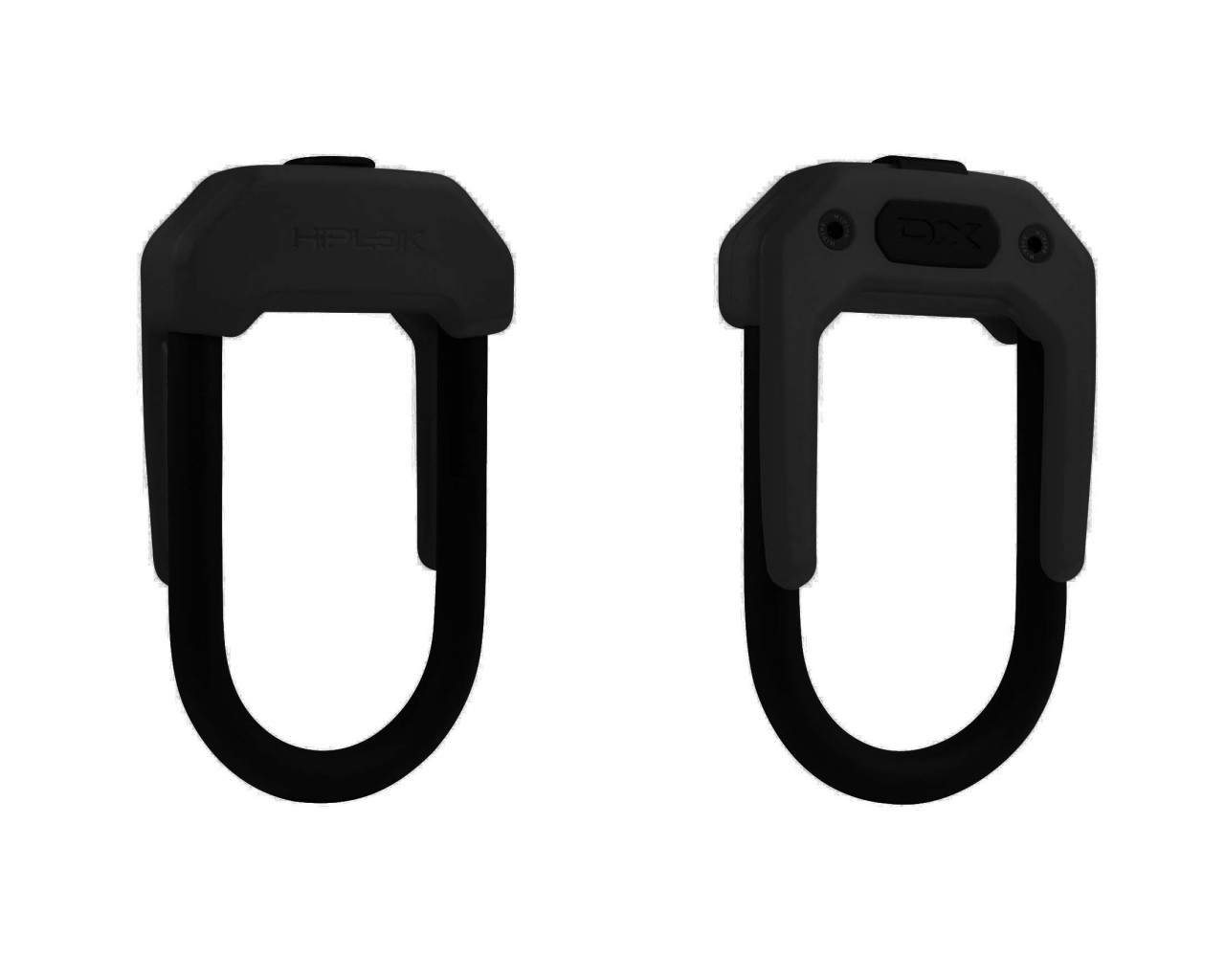Hiplok DX Wearable D Lock - tragbares Bügelschloss | all black