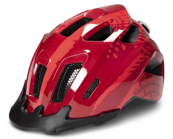 Cube Junior Bicycle Helmet ANT | red splash