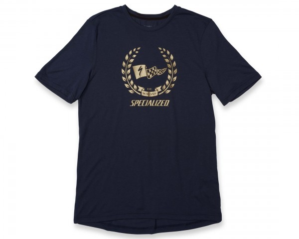 Specialized Drirelease Champion Tee | navy-gold