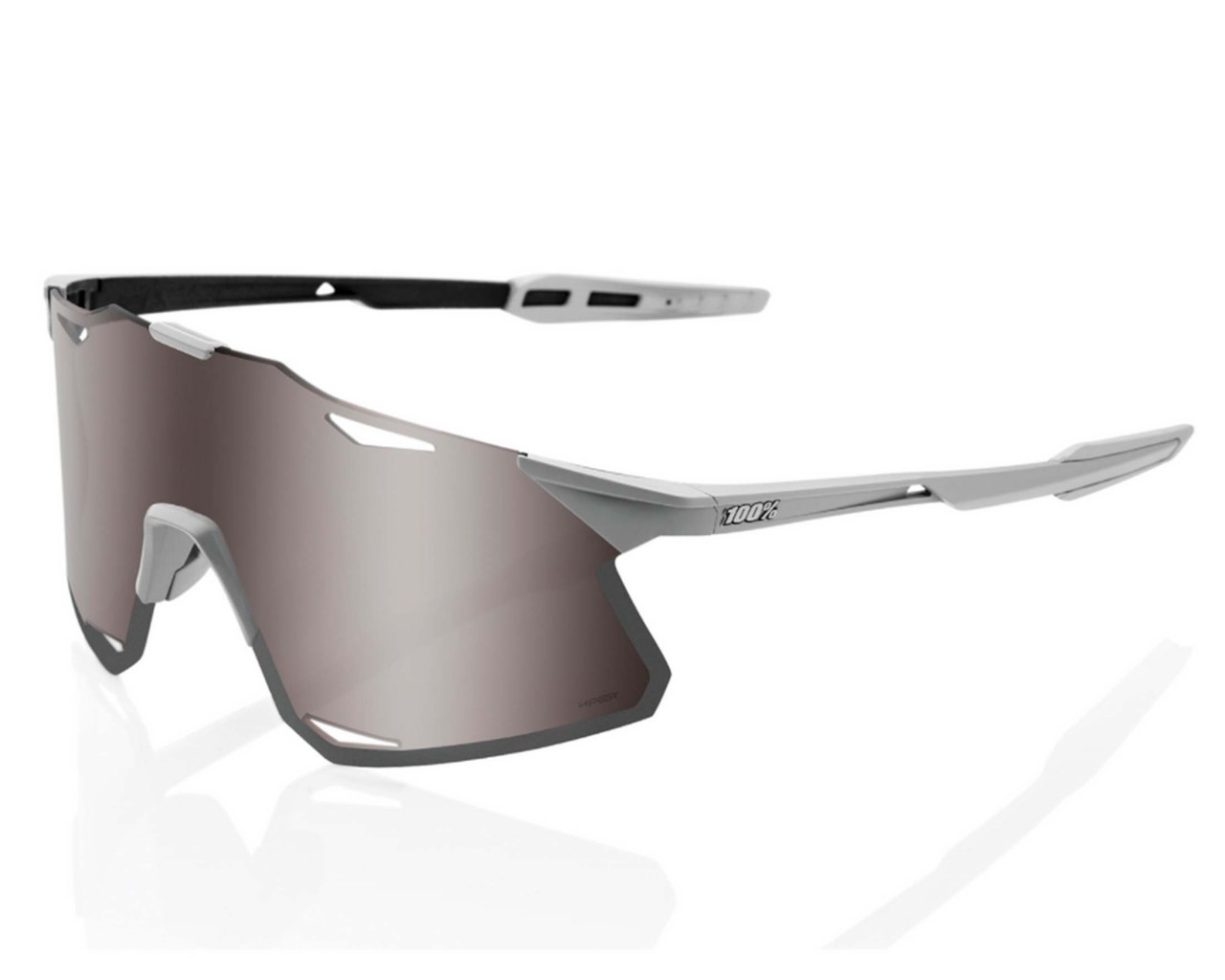 100% Hypercraft - Hiper Lens Sports sunglasses | matt stone grey-silver