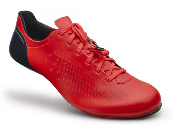 Specialized S-Works SUB6 Road Bike Shoes | rocket red dipped