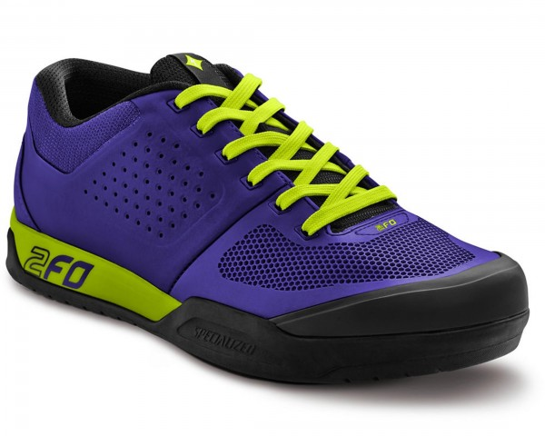 Specialized 2FO Flat Womens MTB Shoes | Indigo-Hyper Green