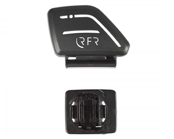 Cube RFR Cycle Computer-Handlebar Bracket Set with Transmitter | black