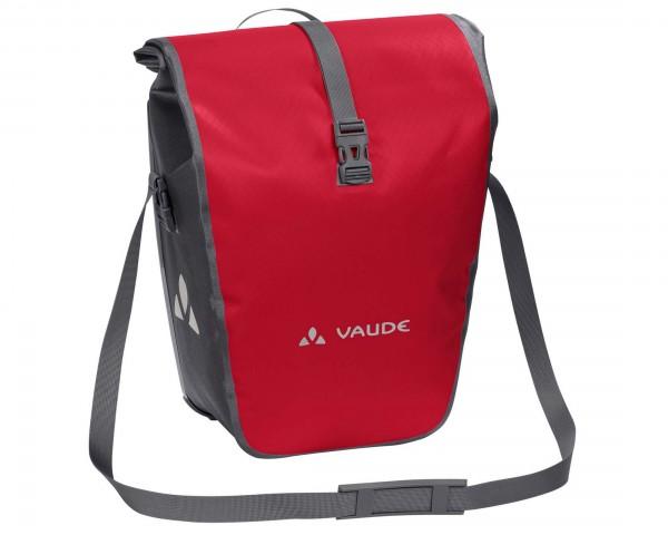 Vaude Aqua Back Single - wasserdichte Fahrradtasche PVC-frei (Einzeltasche)   red