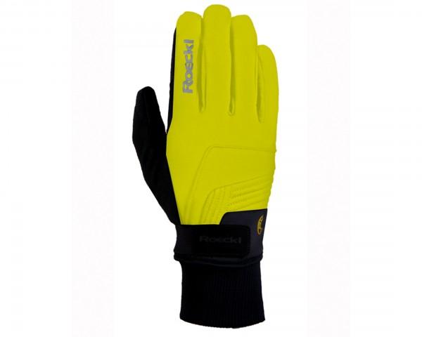 Roeckl Rebelva Winter Gloves   neon yellow