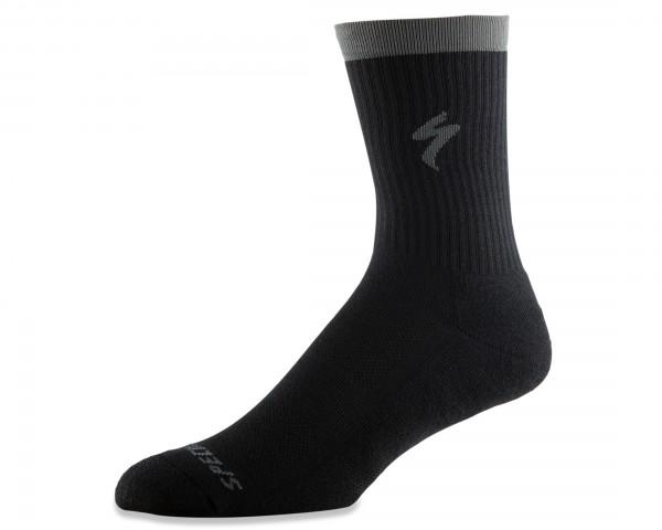 Specialized Techno MTB Socken lang | black