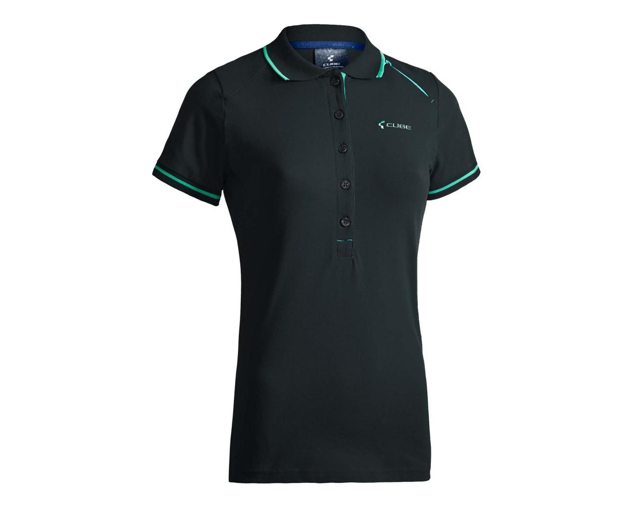 Cube WLS Polo Shirt Classic   black n blue