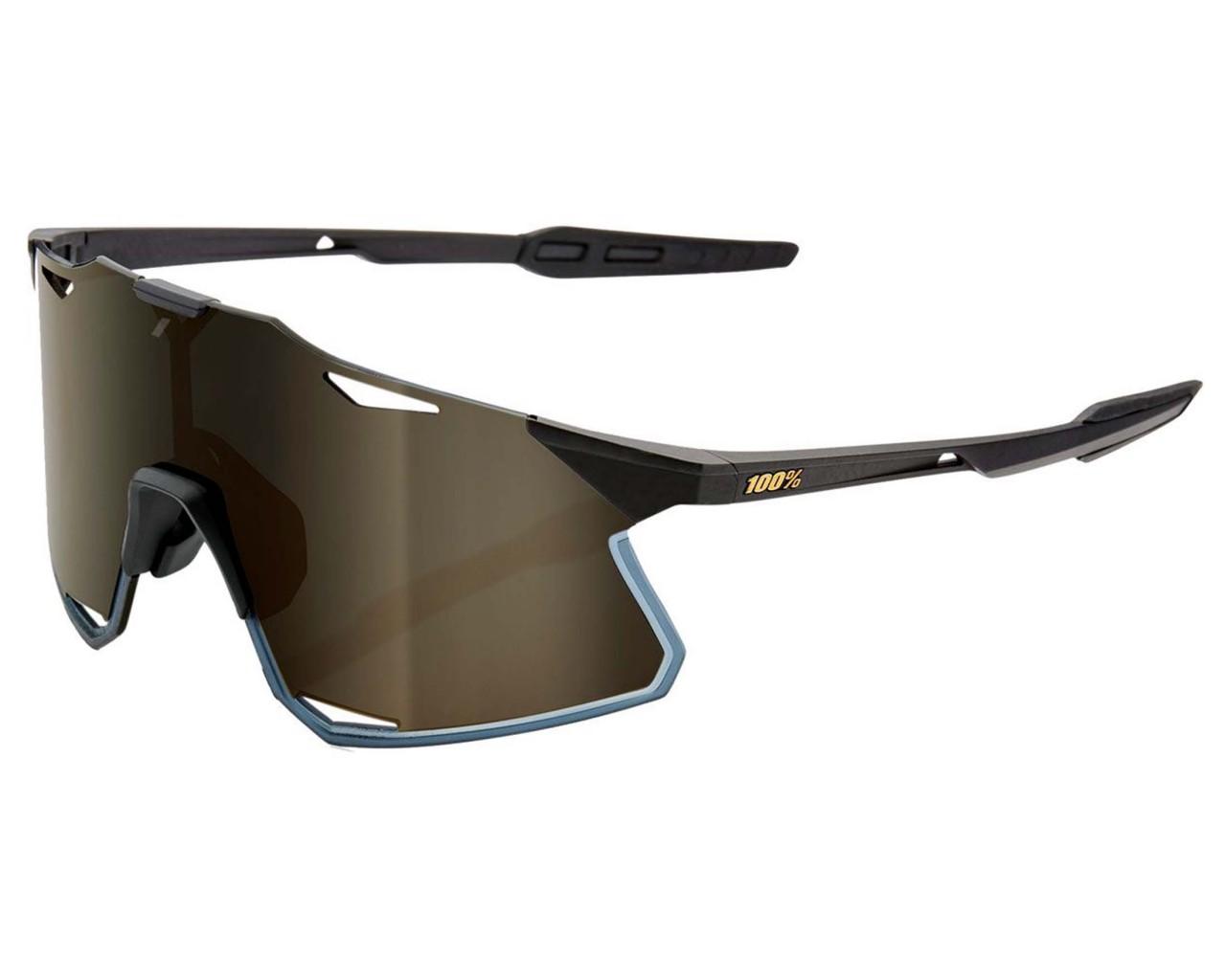100% Hypercraft Mirror Lens Sunglasses | matte black