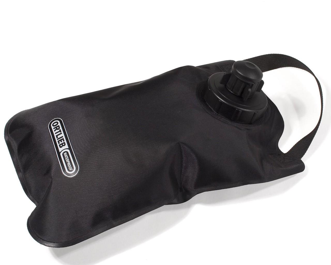 Ortlieb water bag 2 liter   black