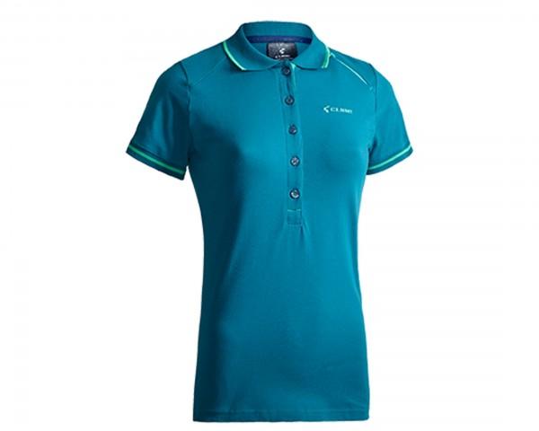 Cube WLS Polo Shirt Classic Damen After Race | türkis
