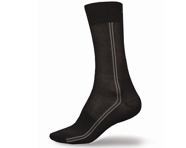 Endura CoolMax Long Socken 2 Paar | Schwarz