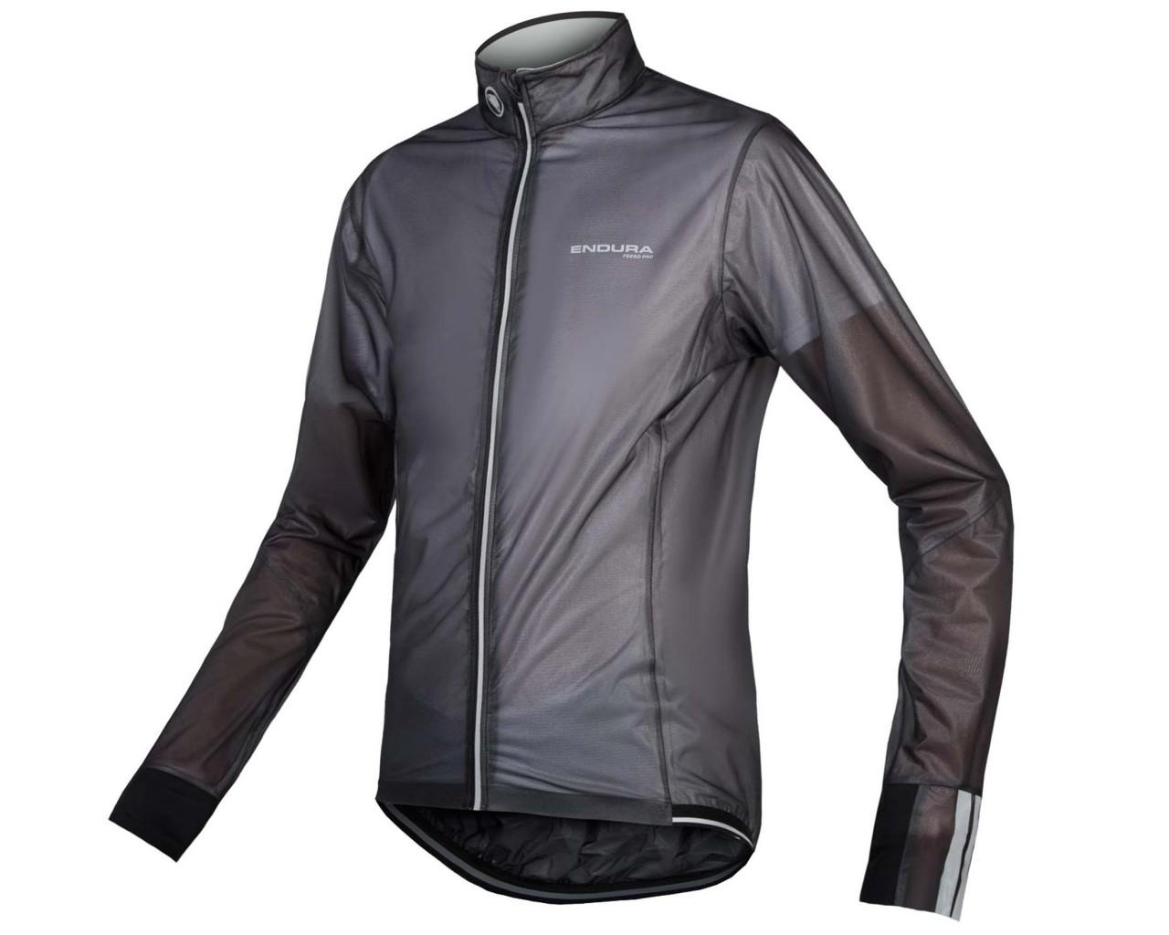 Endura FS260-Pro Adrenaline Race Cape II rain jacket | black
