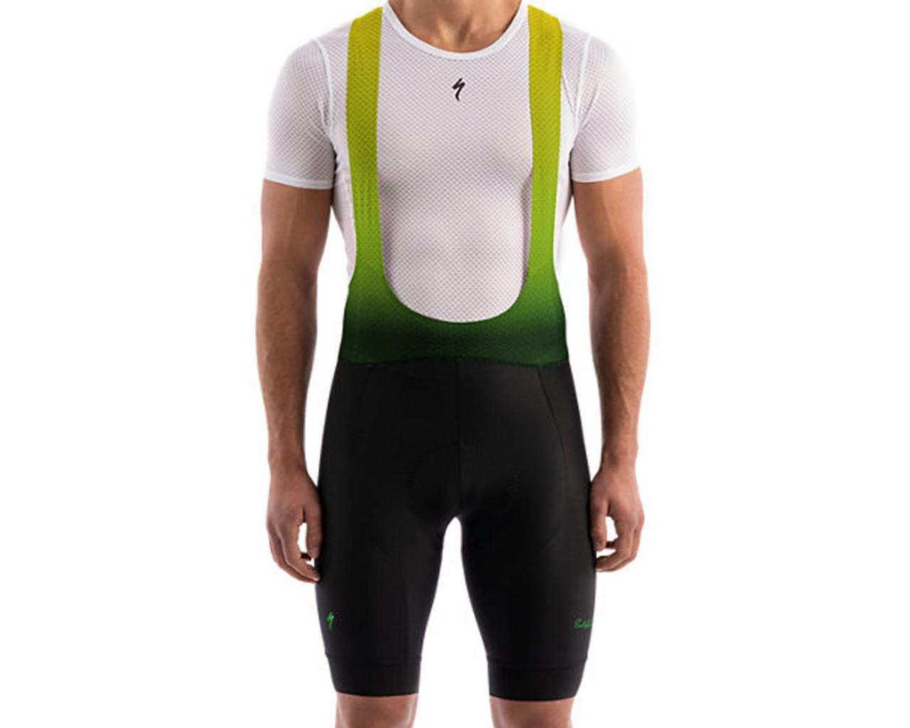 Specialized SL Bib Short Sagan Deconstructivism Green | black