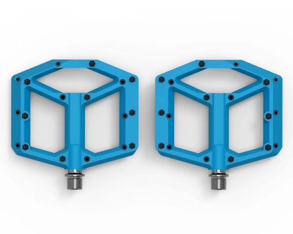Cube ACID Pedals FLAT C1-IB (pair) | blue