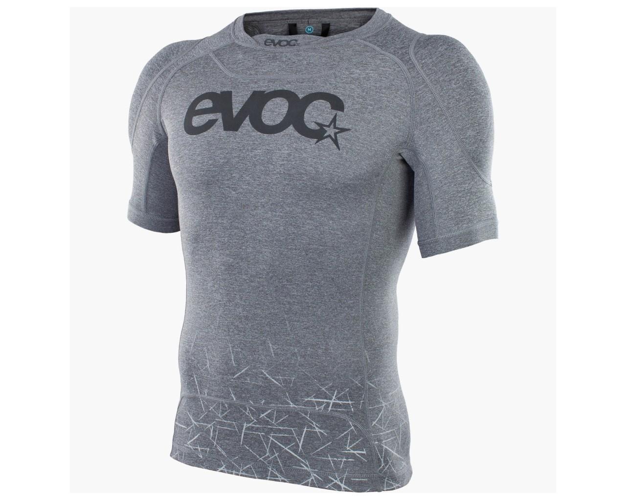 Evoc Enduro Shirt - Baselayer with Shoulder Protectors   grey