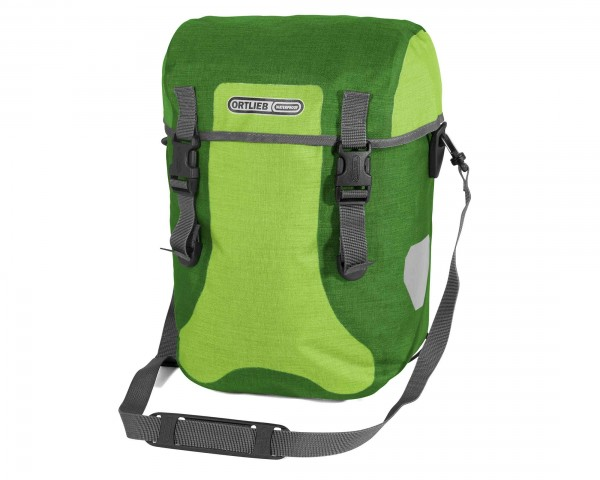 Ortlieb Sport-Packer Plus QL2.1 waterproof expedition bag (pair) PVC-free | lime-moss-green