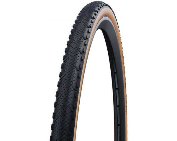 Schwalbe X-One Speed Cyclocross-Reifen Addix Performance Line 28 Zoll | black tan