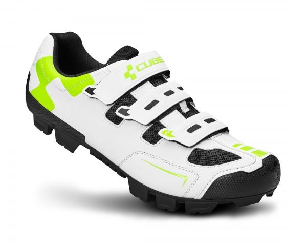 Cube Shoes MTB CMPT | white n green n black