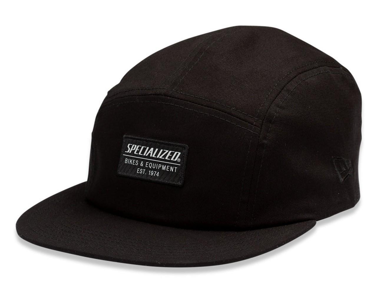 Specialized New Era 5-Panel Hat mit Patch | black