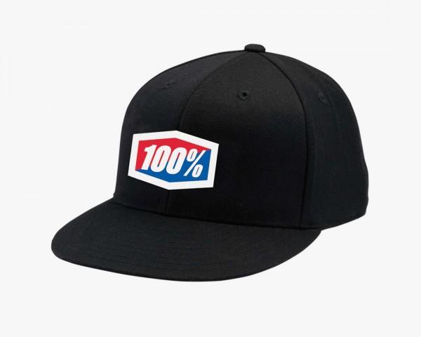 100% Offizieller J-Fit Flexfit Hat   black
