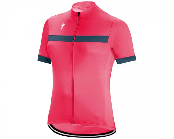Specialized Womens RBX Sport short sleeve jersey | acid red-dust blue