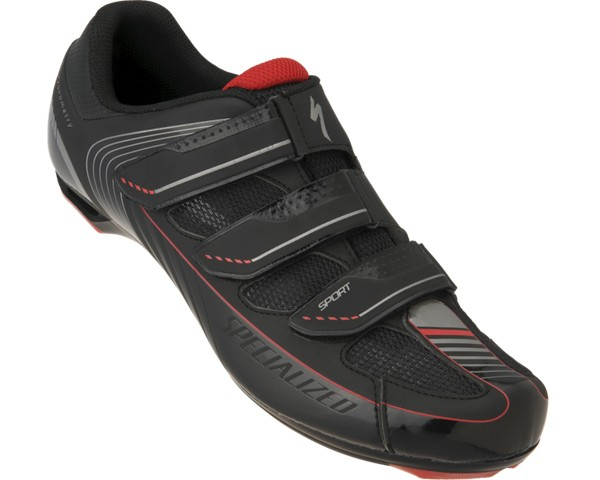 Specialized Sport ROAD Bike Shoes 2013 | black-red