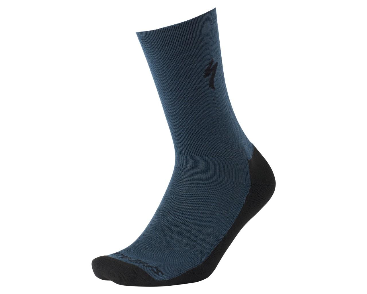 Specialized Primaloft Lightweight Tall Socks | cast blue
