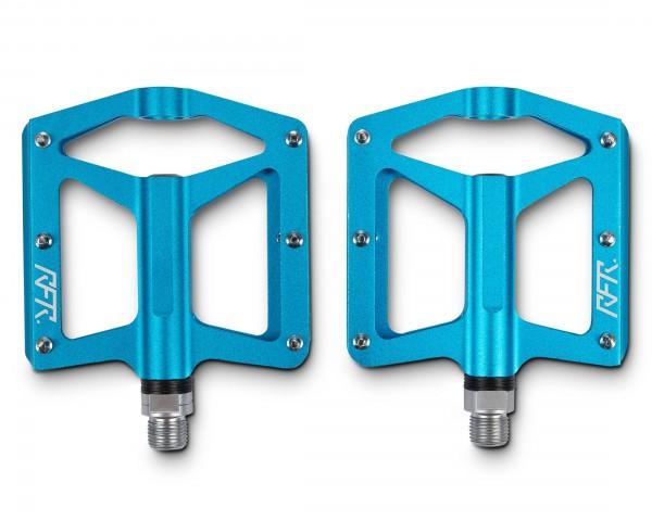 Cube RFR Pedale Flat RACE 2.0 (Paar)   blue