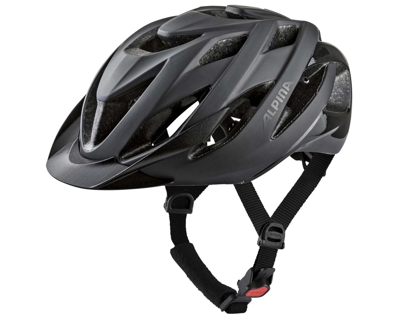 Alpina Lavarda Fahrradhelm | black matt