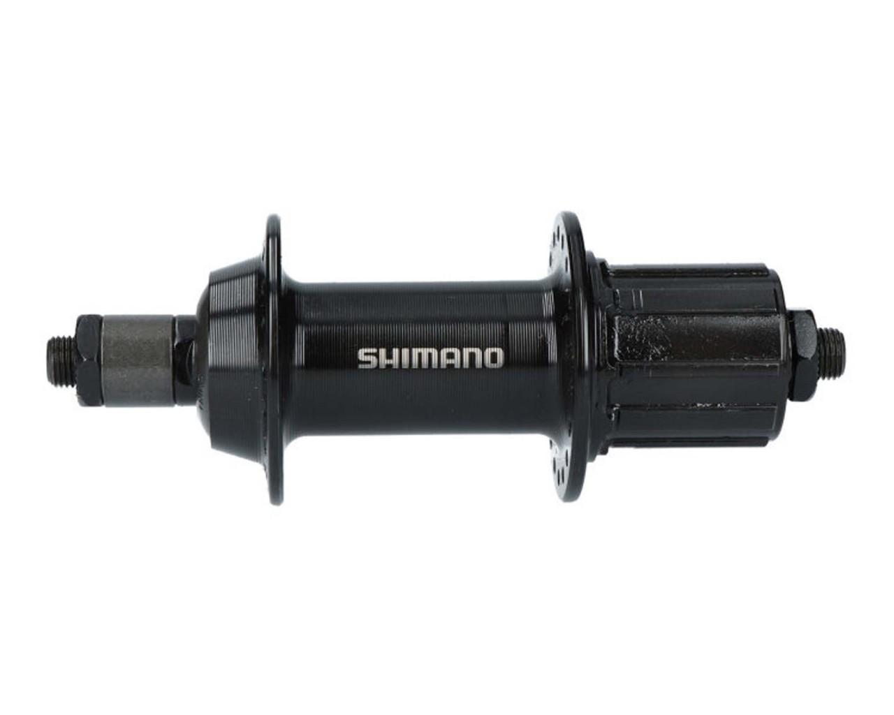 Shimano Hinterradnabe FH-TY500 7-fach - Schnellspanner 135 mm | schwarz 36 Loch