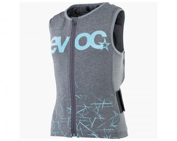 Evoc Protector Vest Kids - Bike Protector Kids Vest   carbon grey