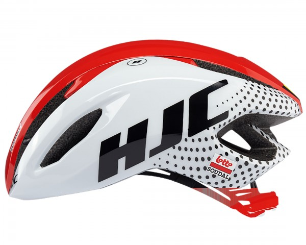 HJC Valeco Road Helmet | Lotto Soudal white