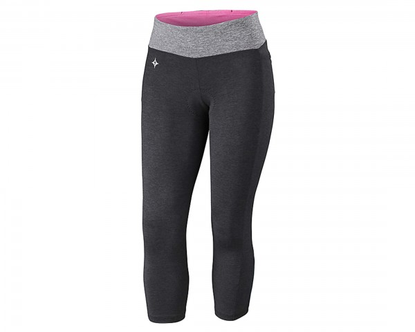 Specialized Shasta 3/4 Cycling Tights Women   black heather