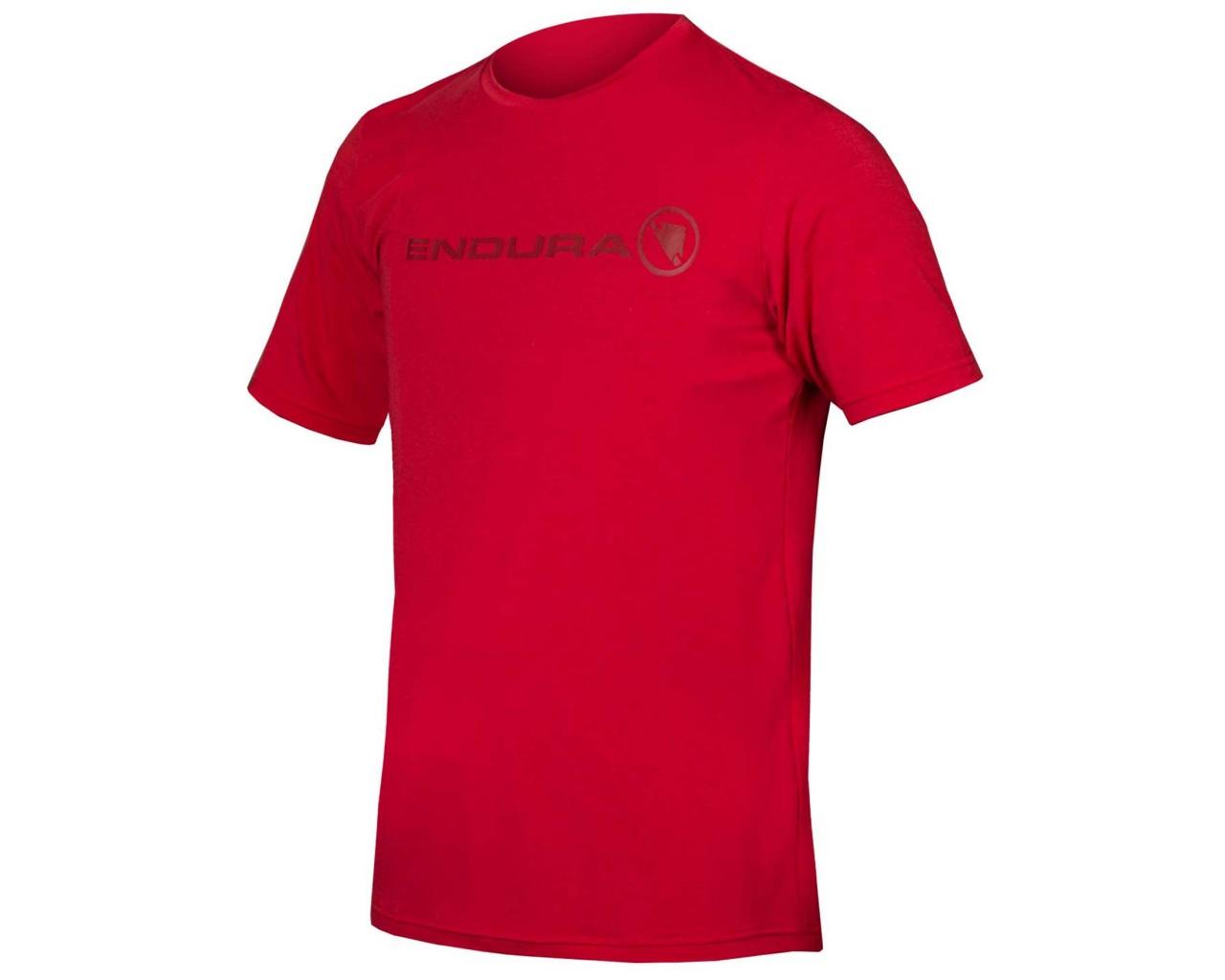 Endura SingleTrack Merino T-Shirt   rust red
