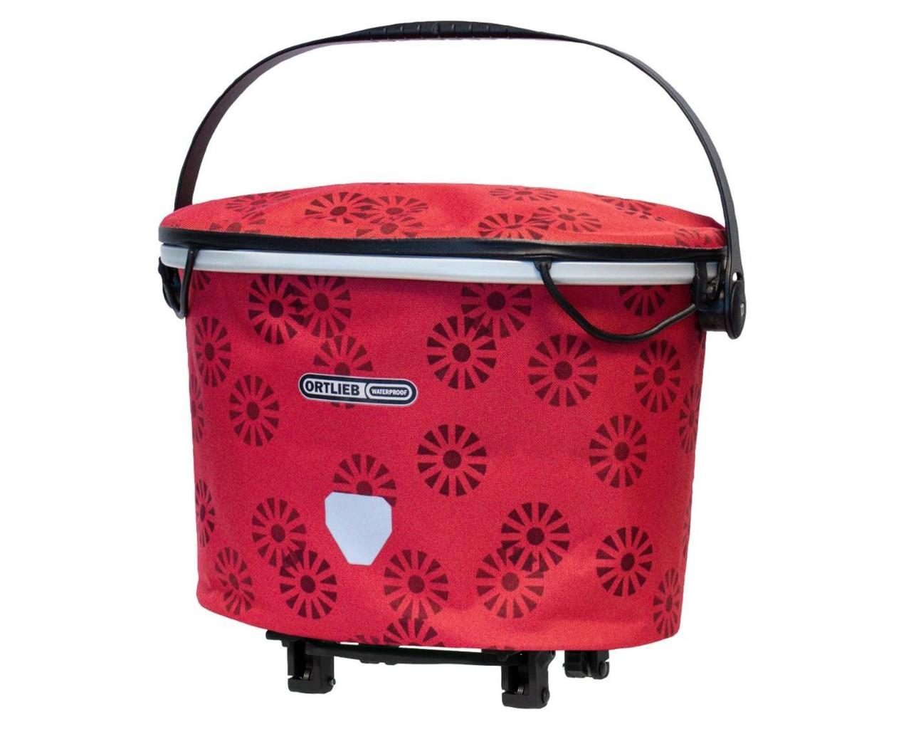 Ortlieb Up-Town Rack Design - waterproof carrier bag | Floral