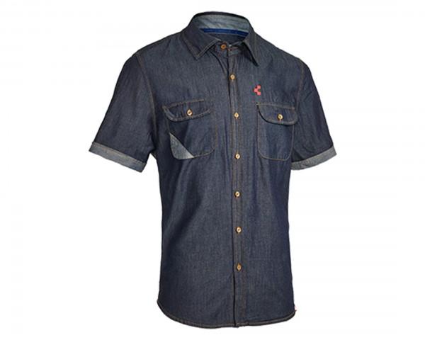 Cube Work shirt short sleeve | denim