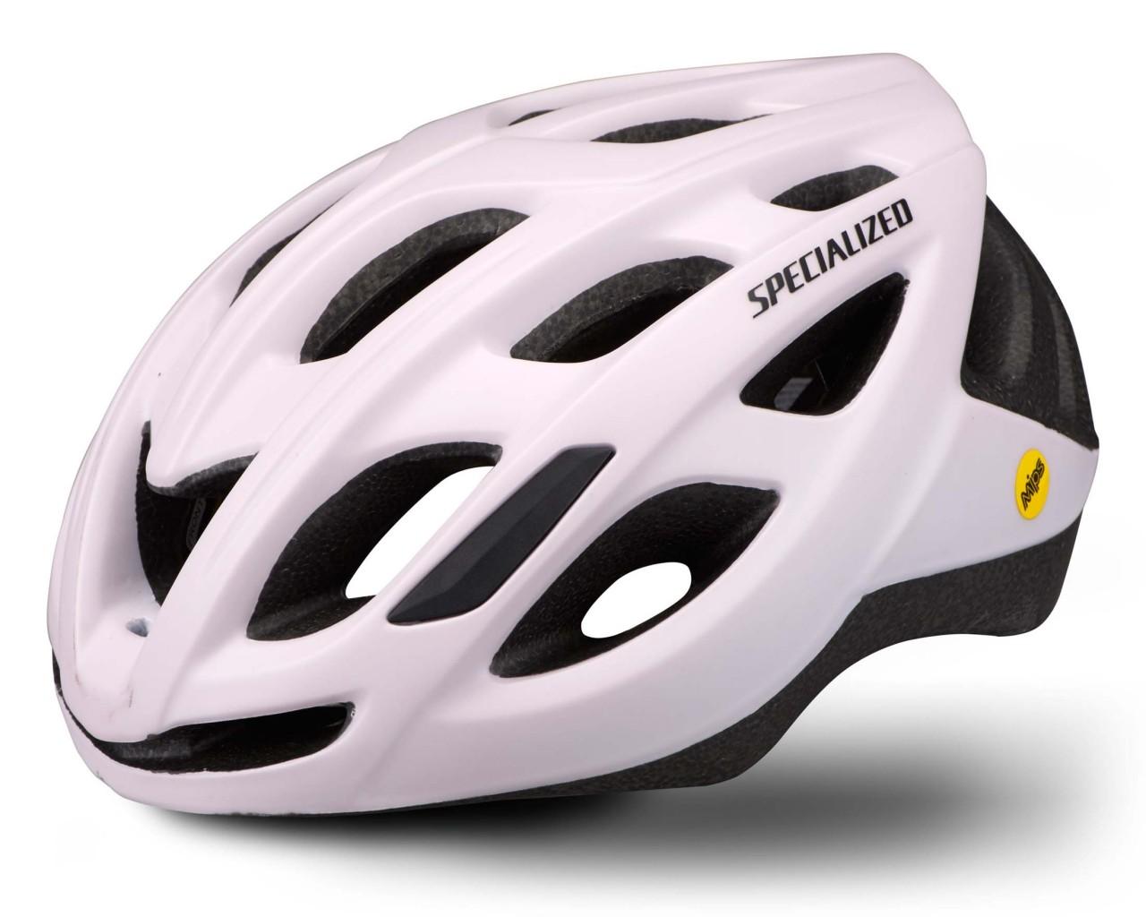 Specialized Chamonix (ANGi kompatibel) Rennrad Helm | satin clay-black reflective
